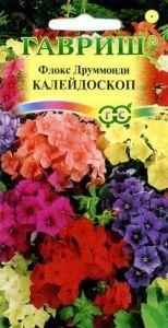 Цветы Флокс Друммонди Калейдоскоп,смесь/Гавриш/цп 0,1 гр.