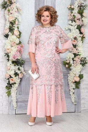 Платье Ninele 5747-Р пудра