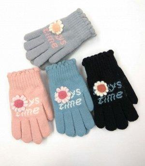 Перчатки 8-11 Поздняя осень- Ранняя зима Детские теплые перчатки с милым рисунком. Регулируемый браслет для комфорта и удобства. Изготовлено из высококачественной ткани, сохранят руки в тепле и сухост