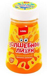 Волшебный лизун в конусе Оранжевый с ароматом апельсина 120 мл Лз-011
