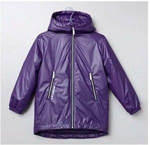 Куртка дд Фиолетовый, осн.ткань: плащевая 100% нейлон, подкладка: нейлон 100% пэ, утеплитель: синтепон 100% пэ  (120гр)