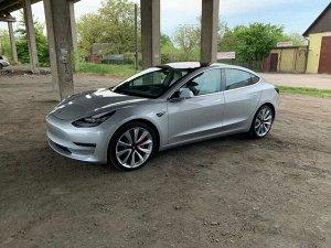 Ковры салонные Tesla Model 3 4WD (1 поколение) (2017 - н.в.) правый руль