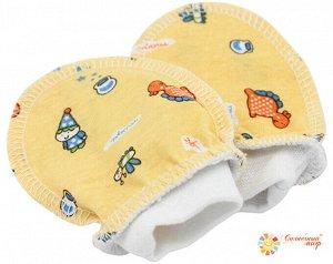 Царапки-рукавички (кулир/рибана/ажурная рибана)