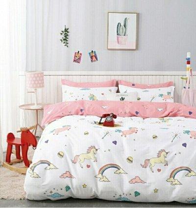 """Постельное белье сатин.❤Подушки, одеяла, простыни на резинке — Постельное бельё из сатина """"Кот Барбарис"""" — Полутороспальные комплекты"""