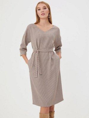 Комфортное качественное повседневное платье на весну