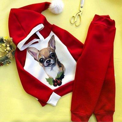 Olliri-Утепляемся! Костюмчики с начесом, кофточки, шапочки — Новый год! Размеры 122-152. — Комбинезоны и костюмы