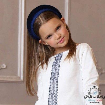№139. =✦Bloomy line✦-детская мода для маленьких модниц — Ободки — Ободки и повязки