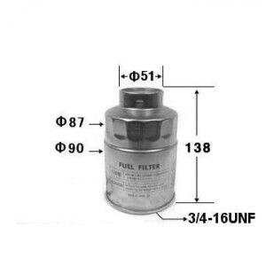 Фильтр топливный AGAMA FC-1158 (23302-64010) (замена VIC FC-158)