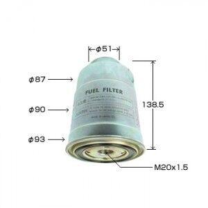 Фильтр топливный AGAMA FC-4409 (1456-13-850A) (замена VIC FC-409)