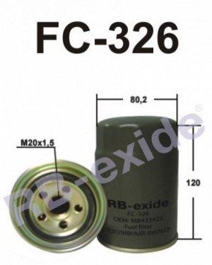 Фильтр топливный FC-326 RB-Exide