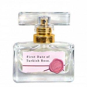 Парфюмерная вода First Date of Turkish Rose для нее, 30 мл