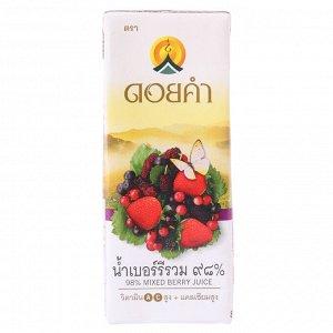 Микс ягодных соков 200 мл
