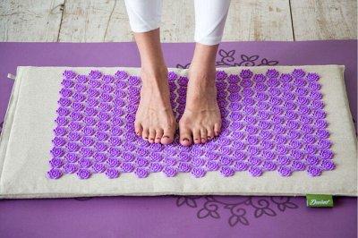 Повтор легендарной йога закупки🔥 Все для твоей практики тут! — Массажные коврики и ролики — Ортопедические коврики