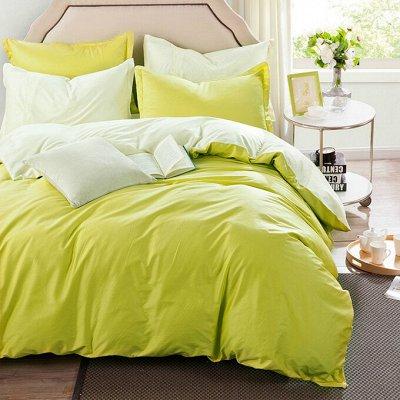 Сайлид! Невероятное качество постельного белья! В наличии 🚀 — Сатин однотонное — Полутороспальные комплекты
