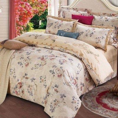Сайлид! Невероятное качество постельного белья! В наличии 🚀 — Сатин с вышивкой — Двуспальные и евро комплекты