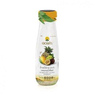 Микс фруктовых соков с хлорофиллом 100 мл
