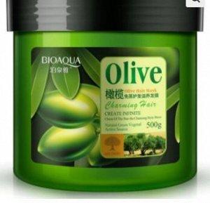 Маска для волос маслом оливы. 500 гр