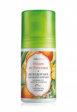 Дезодорант-антиперспирант «Апельсин  ваниль» Fleurs de Provence