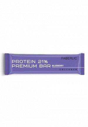 Протеиновый батончик Protein Premium Bar со вкусом черники