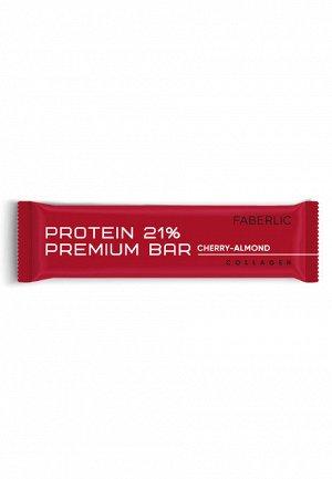 Протеиновый батончик Protein Premium Bar со вкусом вишни и миндаля