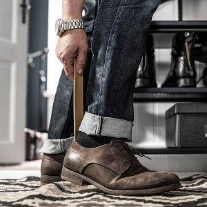 БОРДИГ Рожок для обуви, бамбук 29 см