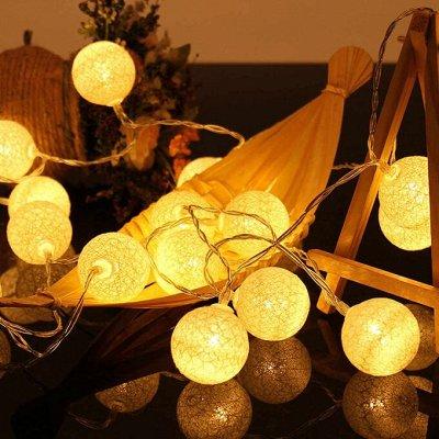 🎄 Предзаказ! Новогодние Чудеса Уже Близко - 2!!! — Гирлянда Тайские Фонарики — Светильники для дома
