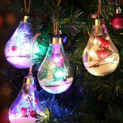Всё для Нового Года - Распродажа Гирлянд! — Светодиодные Елочные Украшения! — Интерьер и декор