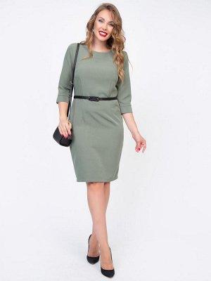 Платье Парижанка (олива)