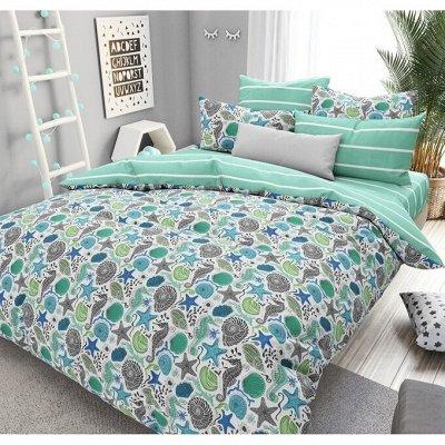 Яркие и красочные комплекты постельного белья — Постельное белье морская тематика