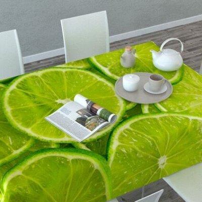 Текстиля для кухни - Огромный выбор, отличные цены ! — Скатерти 3D — Клеенки и скатерти