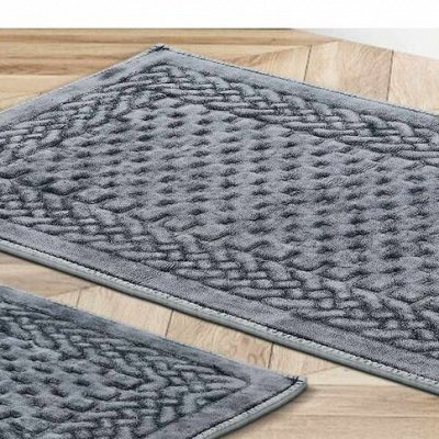 Текстиль для ванны-Огромный выбор. Полотенца. Халаты.Коврики — Набор ковриков для ванной — Коврики