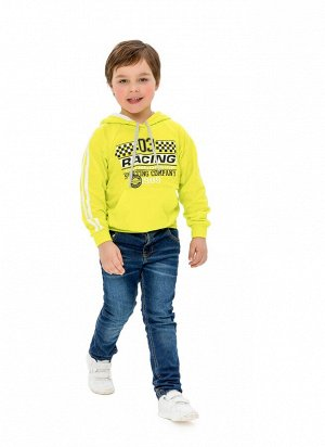 Толстовка Мягкая и уобная толстовка для мальчика Jewel Style с капюшоном идеально подходит для повседневной носки и занятий спортом. Изготавливается из натурального материала высочайшего качества – 10