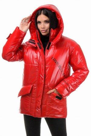 Куртка демисезонная «Лиана», 42-48, арт.299 красный