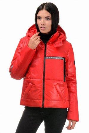 Куртка демисезонная «Мэган», 42-48, арт.298 красный