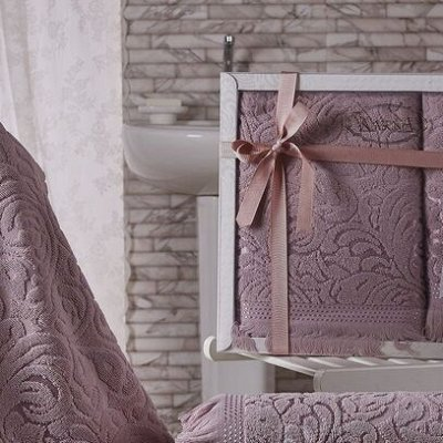 Текстиль для ванны-Огромный выбор. Полотенца. Халаты.Коврики — Наборы Полотенец.. — Полотенца