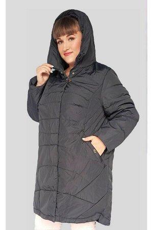 Демисезонная куртка Полина (60-70, 82) темно-синий