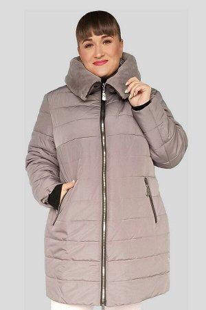 Куртка женская зимняя Нателла (60-72) бежевая