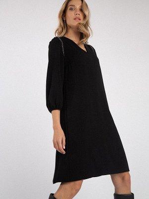 Однотонное платье PL1088/notem
