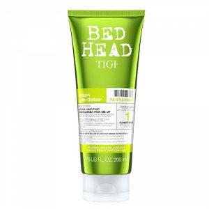 Tigi bed head re-energize кондиционер для ежедневного ухода для нормальных волос 200мл