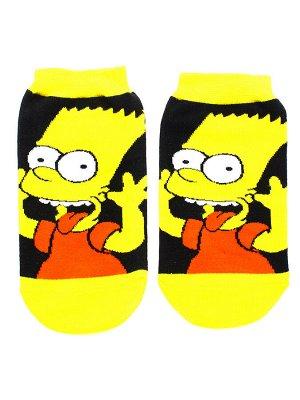 """Короткие носки Р.33-38 """"Симпсоны"""" Барт"""