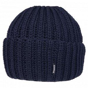 Шапка Код товара:57522 Артикул:3.01.01.01-058-02 Бренд:Svyatnyh Модель:шапка Отворот:с отворотом Цвет:синий Подкладка:с флисом Комплектация:шапка Состав:шерсть-70%, акрил-30%