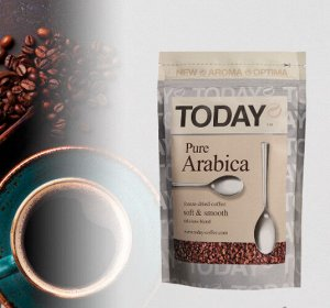 Кофе Растворимый TODAY Pure Arabica 150 Гр