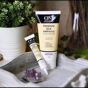 "Несмываемая сыворотка для волос с протеинами шёлка ""Esthetic House""""CP-1"""""" Premium Silk Ampoule"