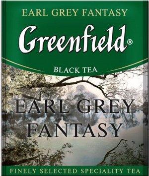 Чай Гринфилд Earl grey fantasy пакет термосаше в п/э уп. для Horeka 2г 1/100/10