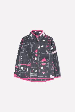 Куртка флисовая для девочки Crockid ФЛ 34011/н/34