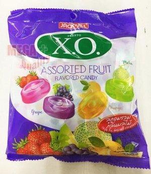 Конфеты Х.О. фруктовое ассорти  (X.O. candy Assorted fruit) 140 грСРОК ГОДНОСТИ ДО 21.01.2021