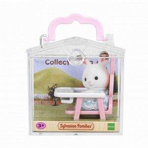 """Набор """"Младенец в пластиковом сундучке"""" (кролик в детском кресле)"""