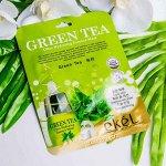 Тканевая маска с зеленым чаем Ekel Green Tea Ultra Hydrating Essence Mask