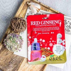 Тканевая маска с экстрактом красного женьшеня Red Ginseng Essense Mask