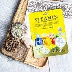 Восстанавливающая тканевая маска для чувствительной кожи с витамином С